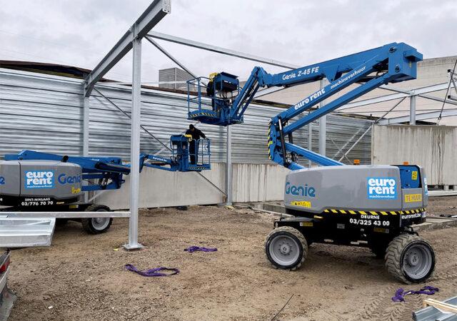 Hybride hoogwerkers 16 meter kopiëren